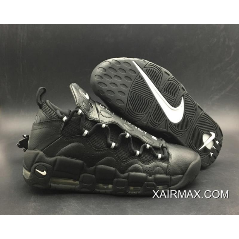 the best attitude best selling release date: Women/Men Best Nike Air More Money Black/Metallic Silver-Black ...