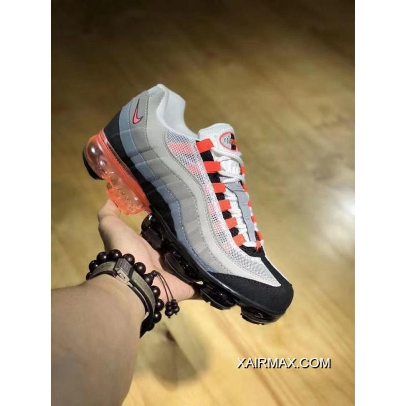 sale retailer b38fa ee9eb Best Men Nike Air VaporMax 95 Running Shoes SKU 108840-313 ...