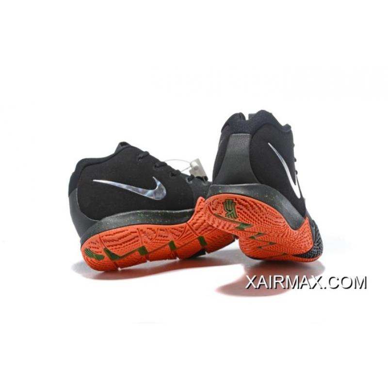 big sale 8c5e3 730a9 ... coupon for nike kyrie 4 halloween black metallic silver orange new  release 15627 c3722