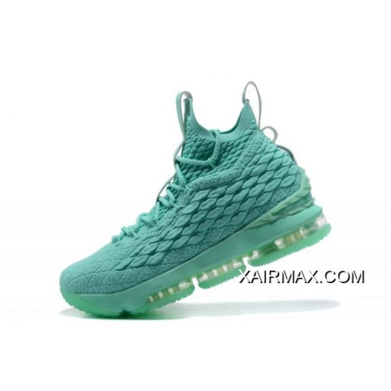 "super popular c538e 6b32a Where To Buy Nike LeBron 15 ""Mint Green"" Men's Basketball Shoes"