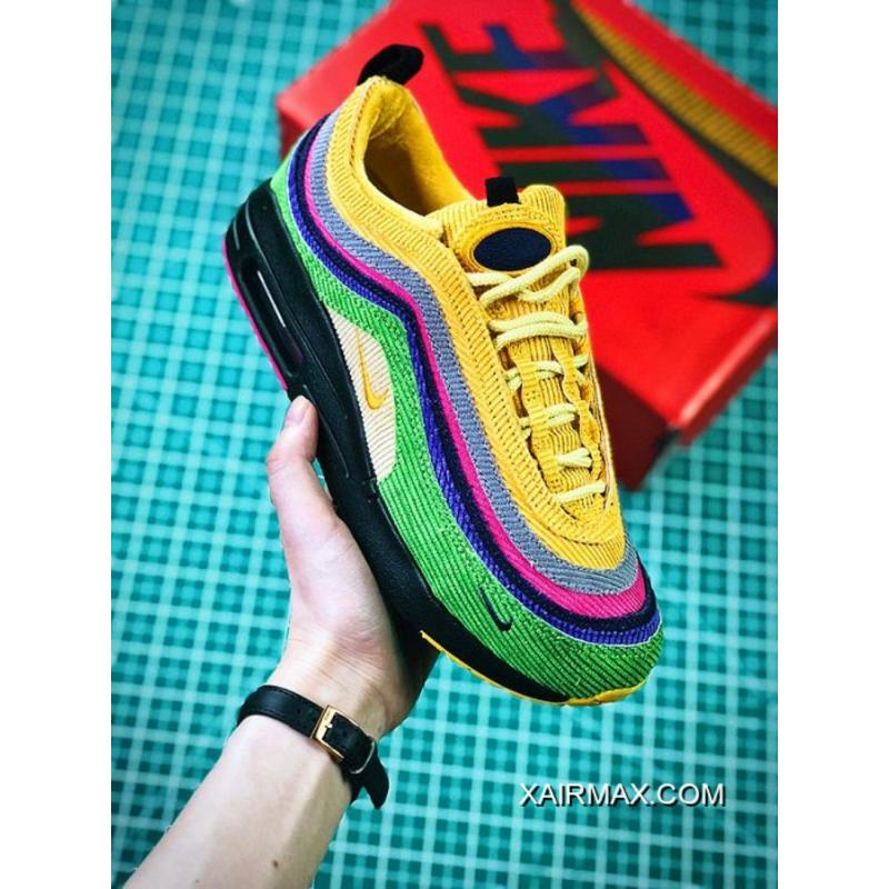 wholesale dealer 2285c 94b97 Women Sean Wotherspoon Nike Air Max 97 Hybrid SKU 166131-251 Copuon ...