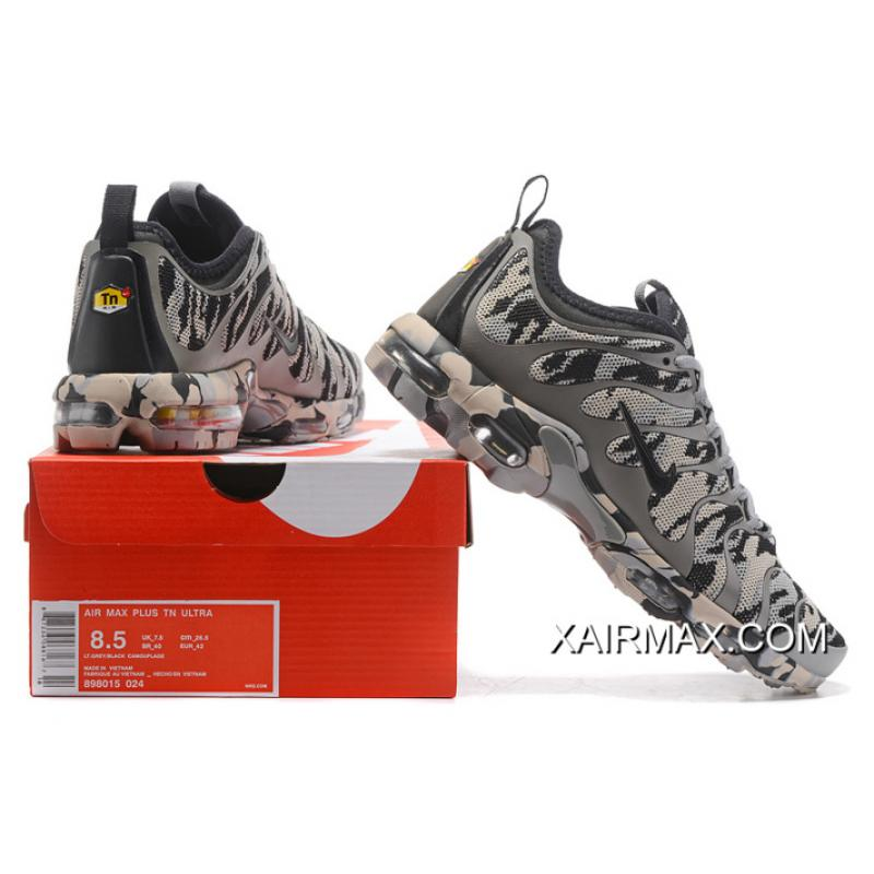 Price MensWomens Nike Air Max Plus TN Ultra Shoes BlueCamouflage 898015 023 Discount