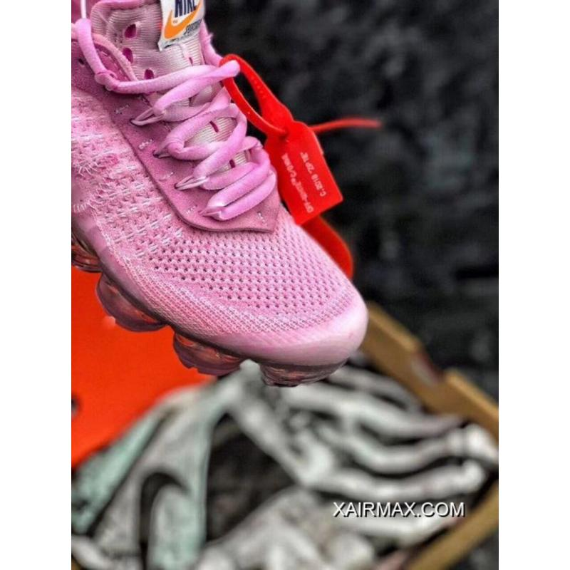 67ffdce0ce9 ... Women OFF-WHITE X Nike Air VaporMax 2018 Flyknit Sneakers SKU 194474-272  ...