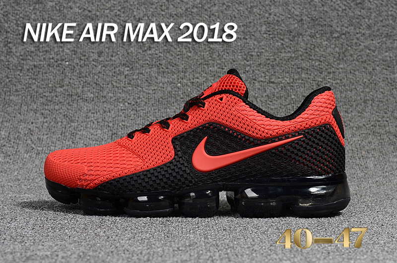 finest selection 09210 ddeb6 New Release Men Nike Air VaporMax 2018 Running Shoes KPU SKU:18027-266