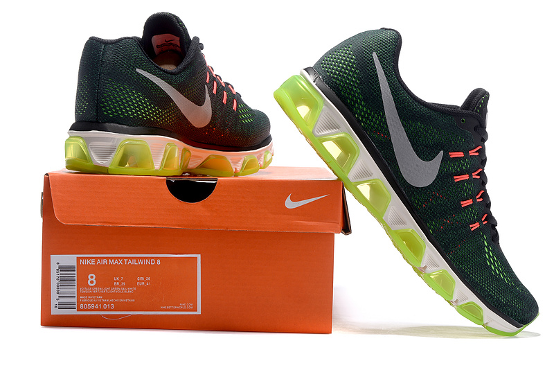 huge discount 1bdfb 87f55 Men Nike Air Max Tailwind 8 Running Shoe SKU:100693-205 New Year Deals
