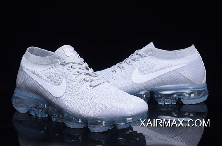 463dec5cfa6f1 Authentic Women Nike Air VaporMax 2018 Flyknit Sneakers SKU 92598 ...