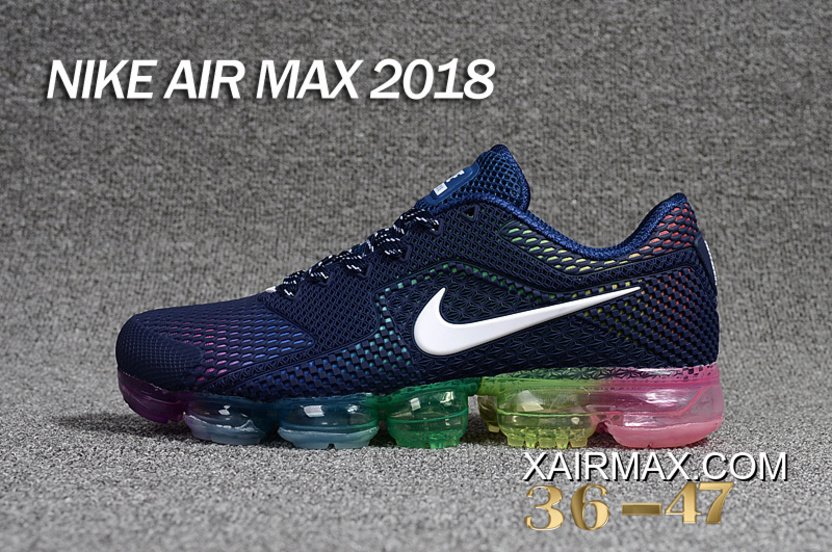 more photos 6c43e dc905 Women Nike Air VaporMax 2018 Sneakers KPU SKU 126090-214 Top Deals